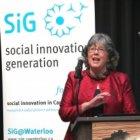Dr. Frances Westley - Social Innovation Generation. Kitchener, ON, CA