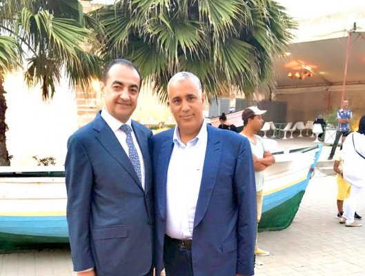 His Excellency Mouad El Jamai Governor of the province El Jadida and Mohamed Dekkak
