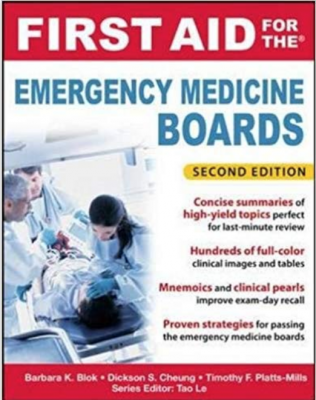 First Aid for the Emergency Medicine Boards, 2nd Edition