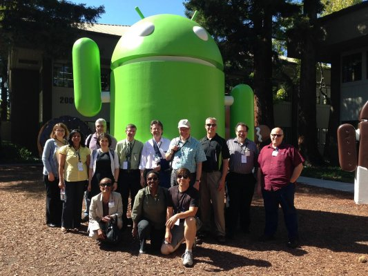 With friends at Google Mountain View