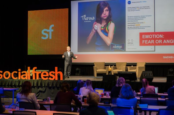 Ryan Cohn of Sachs Media Group at Social Fresh Conference 2017 in Orlando Florida