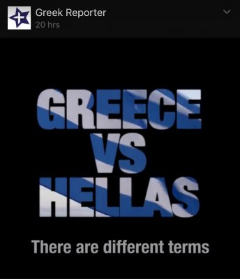 Image for media appearances on Greece vs Hellas: The Semantics behind the country of many names