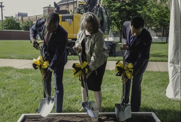 Image for media appearances on VCU breaks ground on new engineering research building