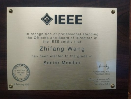 Image for photos on IEEE Senior Member 2012