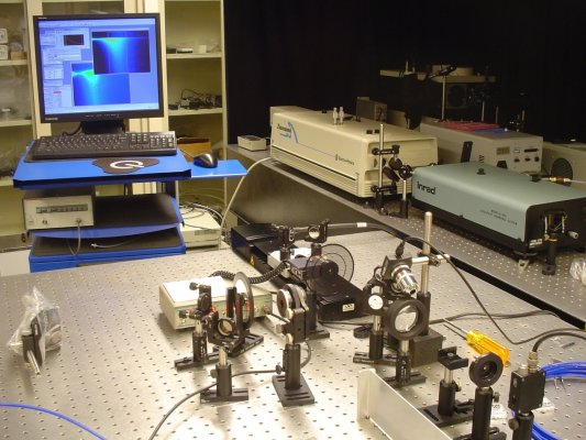 Image for research focus on Optical Spectroscopy