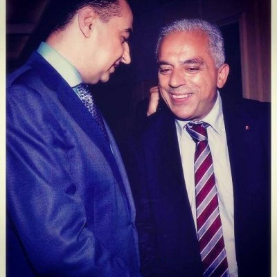 His Excellency Minister of Moroccans Living Abroad Abdellatif Maazouz and Chairman of Adgeco Group Mohamed Dekkak