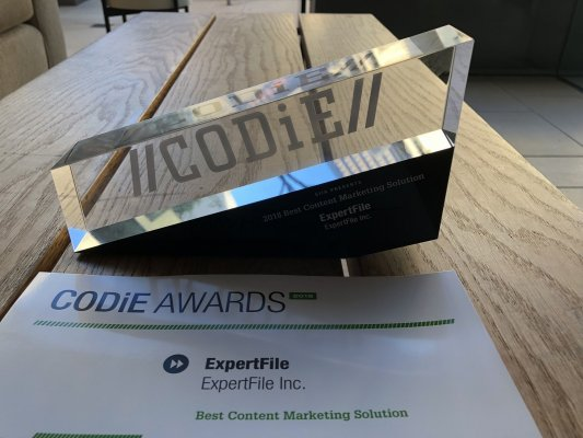 CODiE Awards, Content Marketing