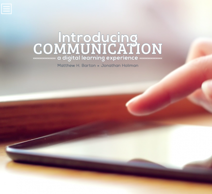 Image for photos on Introducing Communication: A Digital Learning Experience