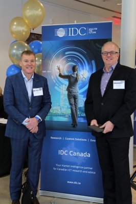 Steve White and Trevor Smith at IDC Directions 2018 Canada
