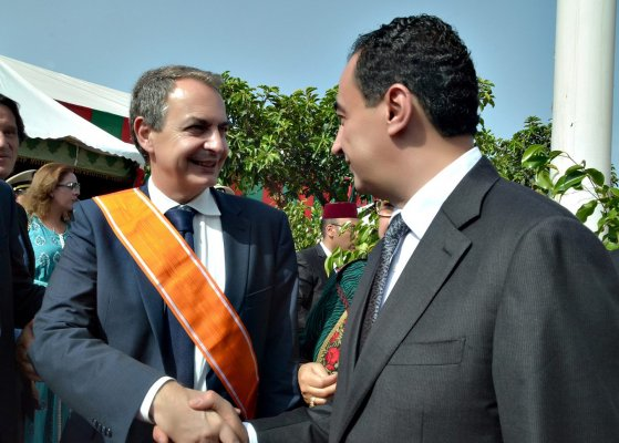 H.E Jose Luis Rodriguez Zapatero Former Prime Minister of Spain and Mohamed Dekkak Chairman and Founder of Adgeco Group