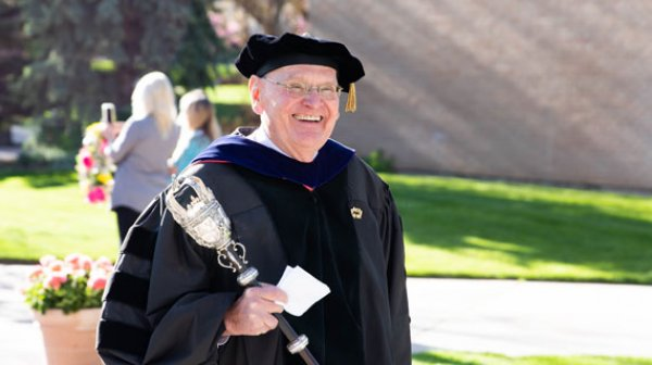 Provost Robert Eves, Southern Utah University Commencement