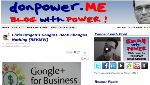 Don Power Publication