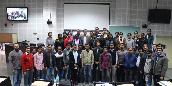 Image for photos on GIAN students, IIT Roorkee