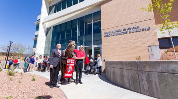 Mark and Julie Svoboda Geosciences Building Dedication, Robert Eves, Southern Utah University