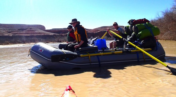 MacLean - Floating the San Juan River