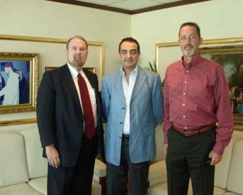 Visit of His High Excellency Ambassador Micheal Ussery with Mohamed Dekkak Chairman of Adgeco Group